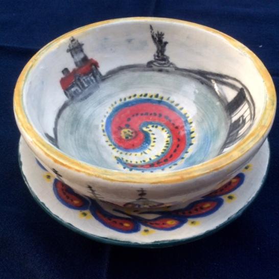 Interior bowl, NYC