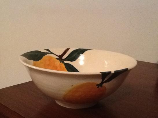Lemon Bowl #1 side