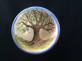 Interior Wesley's baby bowl