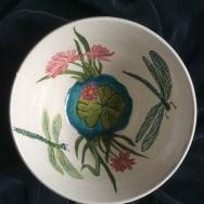Lotus bowl interior