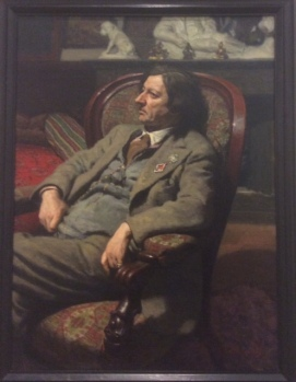 Portrait of Isaac Brodsky, 1938, by Alexander Laktinov