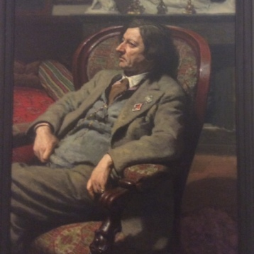 Portrait of Isaac Brodsky, 1938, by Alexander Laktinov