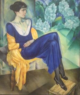 Portrait of Anna Akhmatova, 1915, by Natan Altman