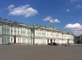 Hermitage art museum, St.Petersburg, Russia