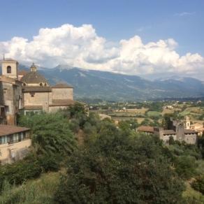 Peschio village, Lazio, Italy