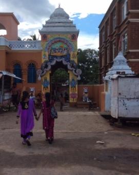 Temple on street leading up to Jagarnnath Temple