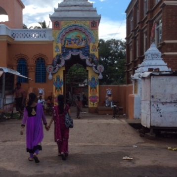 Temple on street leading up to Jagarnnath Temple