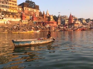 Varanasi from the Ganges River