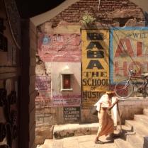 pilgrim on Varanasi street