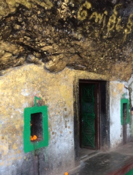Cave where Buddha meditated