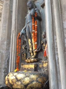 Buddha at Bodhgaya temple