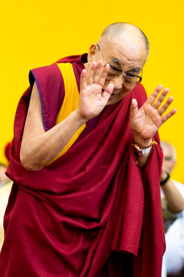 Dalai Lama, photographer Tim Steadman