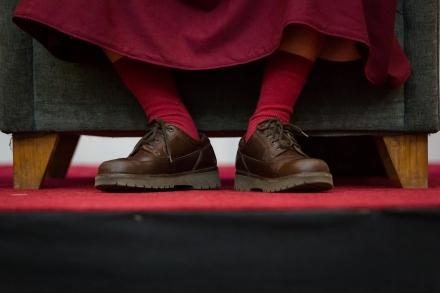 Dalai Lama, photo, Mark Cowlin