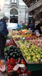Vegetable market, Catania, Sicily