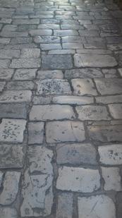 Street in Trogir, Croatia