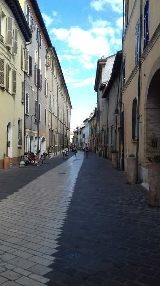 Poetry Walk, Ravenna, Italy